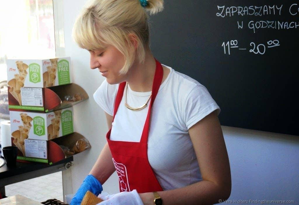 Wytwornia Lodow Tradycyjnych - Traditional Ice-cream in Poznan, Poland