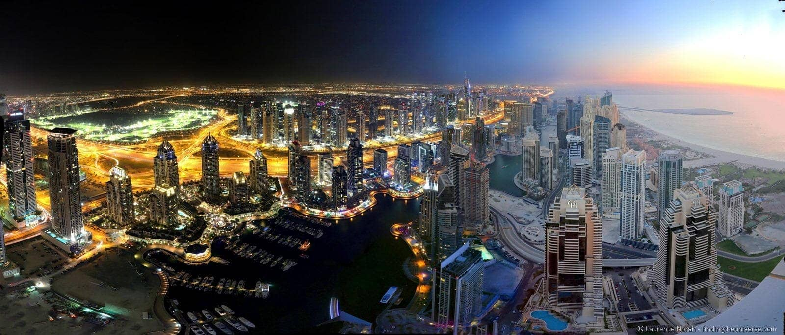 Dubai night into day scaled