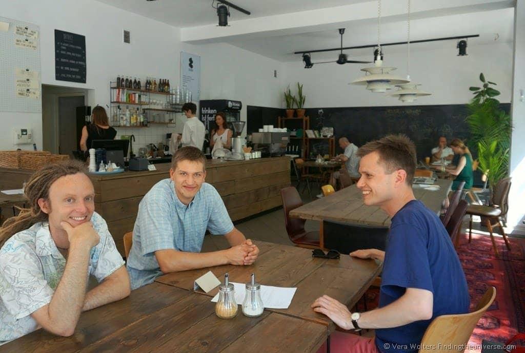 where to eat in Poznan - Excited! With Jacek and Wojtek at Jezyce Kuchnia, Poznan, Poland