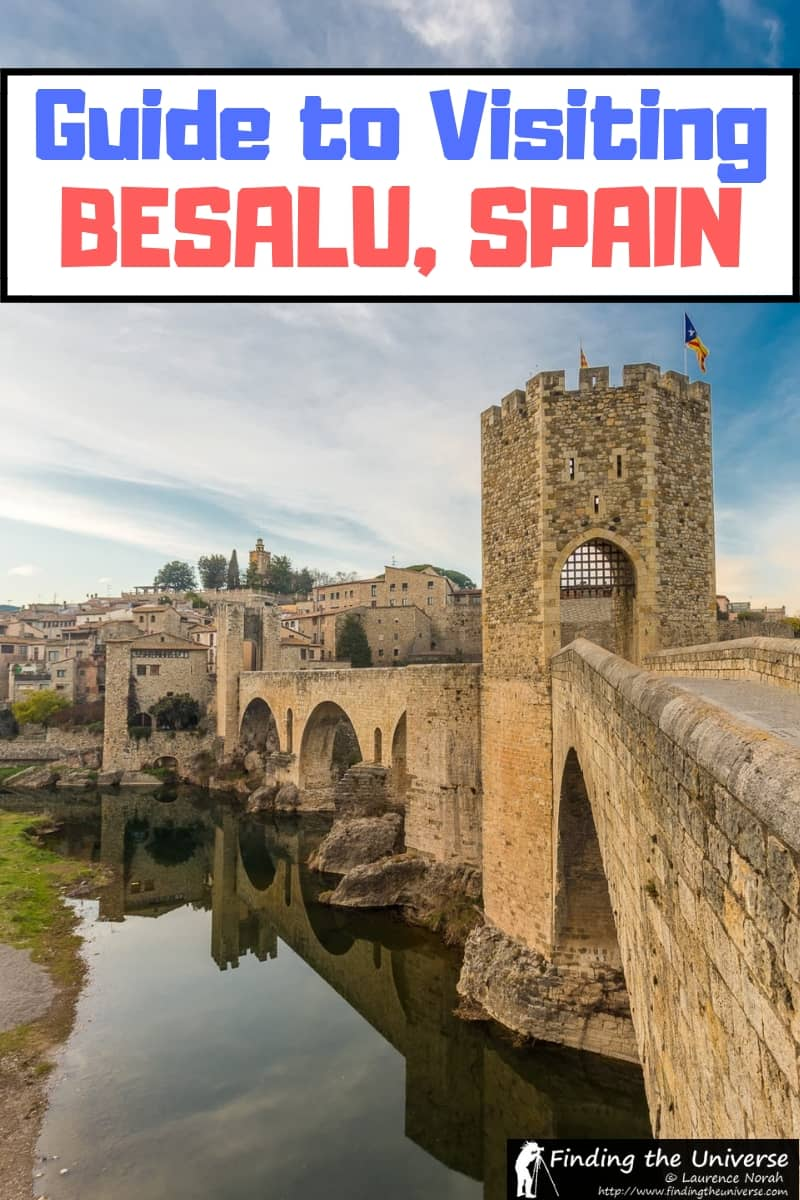 Tips for what to do when visitng the beautiful town of Besalu Spain. Besalu is found in La Garrotxa, in the Costa Brava region of Spain.