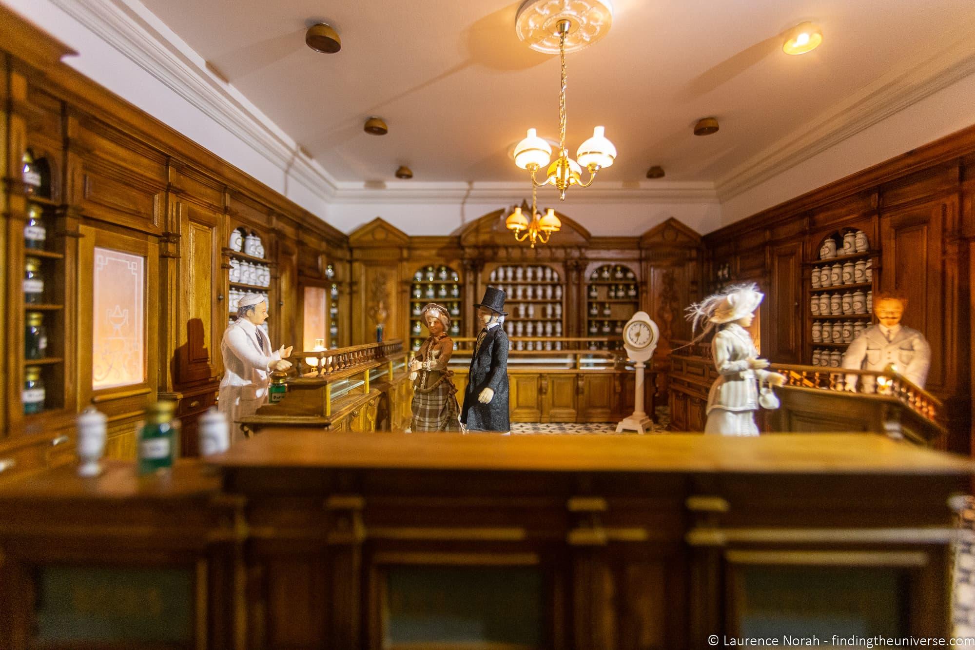 Besalu minature museum