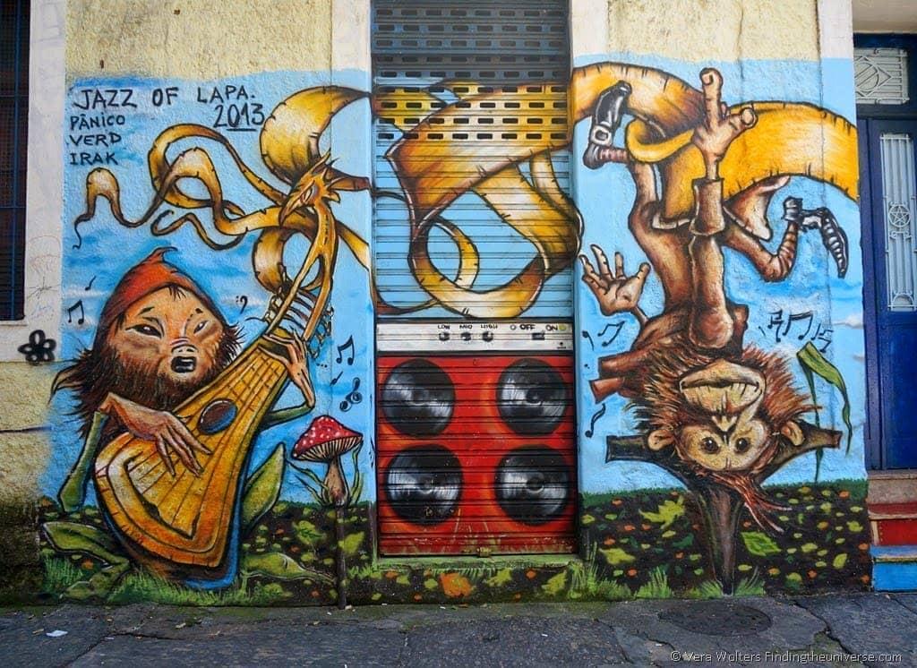 Lapa Street Art by Panico - Rio de Janeiro, Brasil