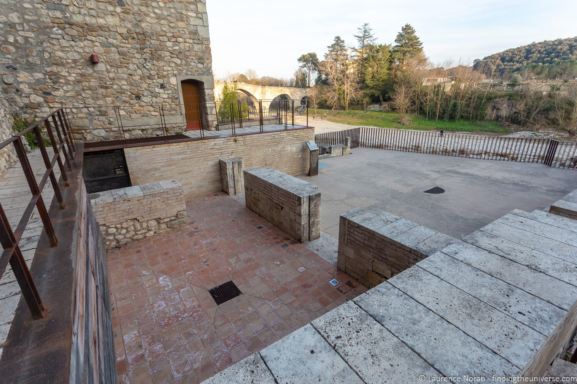 Jewish baths and Synagogue Besalu