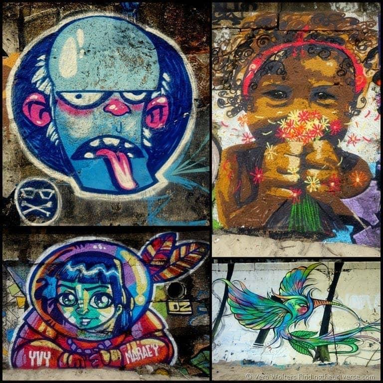 Street Art Beach Rio de Janeiro, Brasil