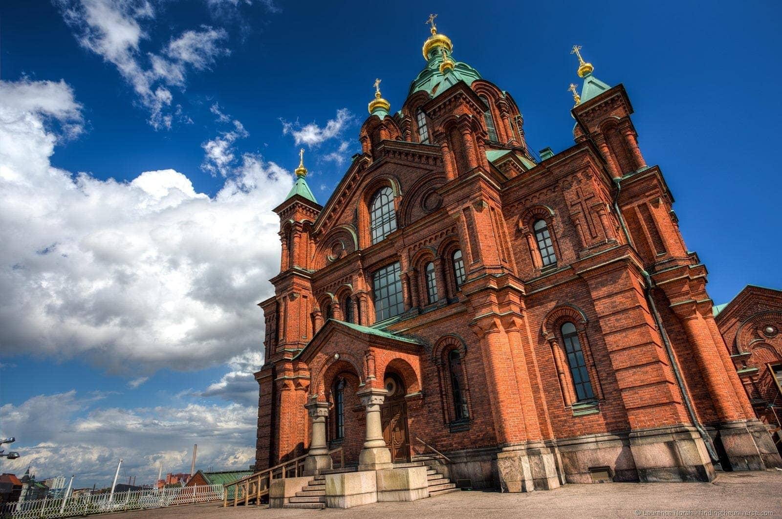 1 day in Helsinki - uspenski cathedral helsinki