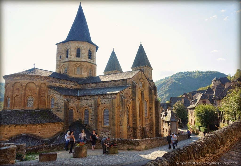 Abbey-Church Conques, Aveyron, France