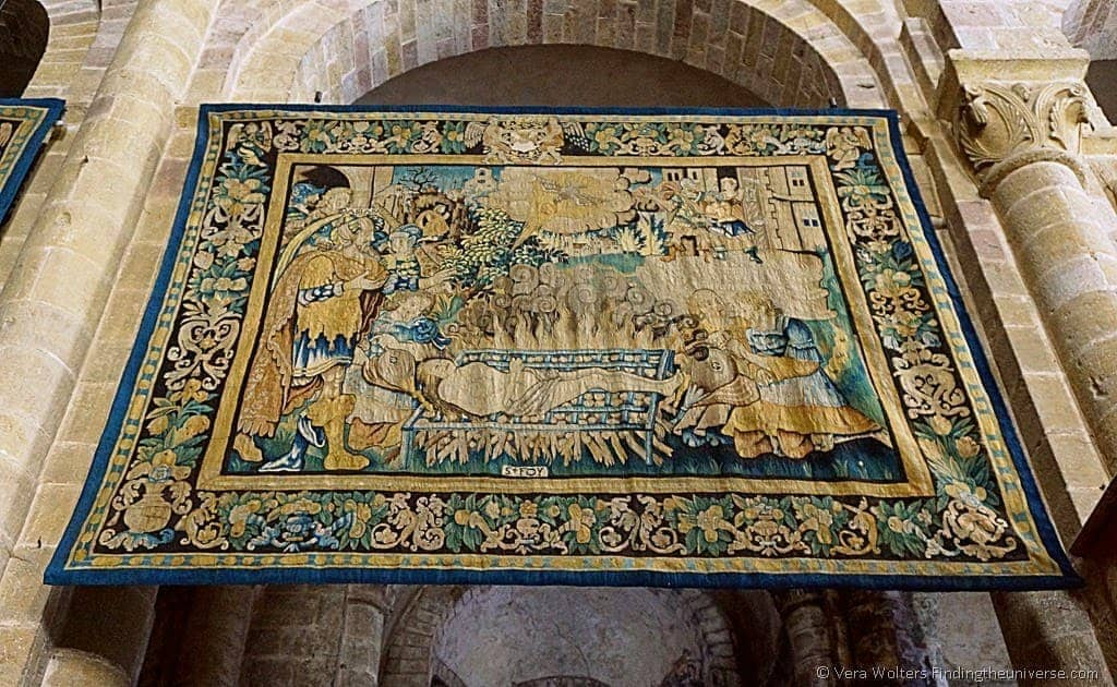 Tapestry Ste Foy Abbey-Church, Conques, France