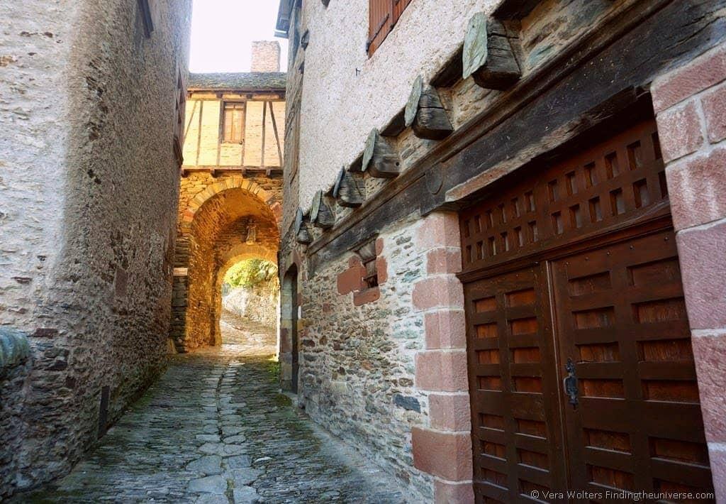 Porte de la Vinzelle, Conques, France