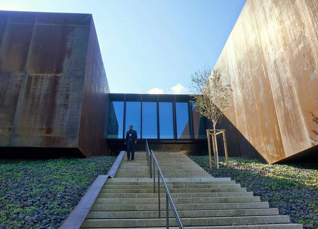 Musée Soulages outside, Rodez, France