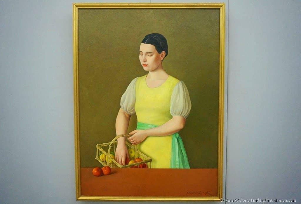 """Margherita"" by Antonio Donghi, 1936"