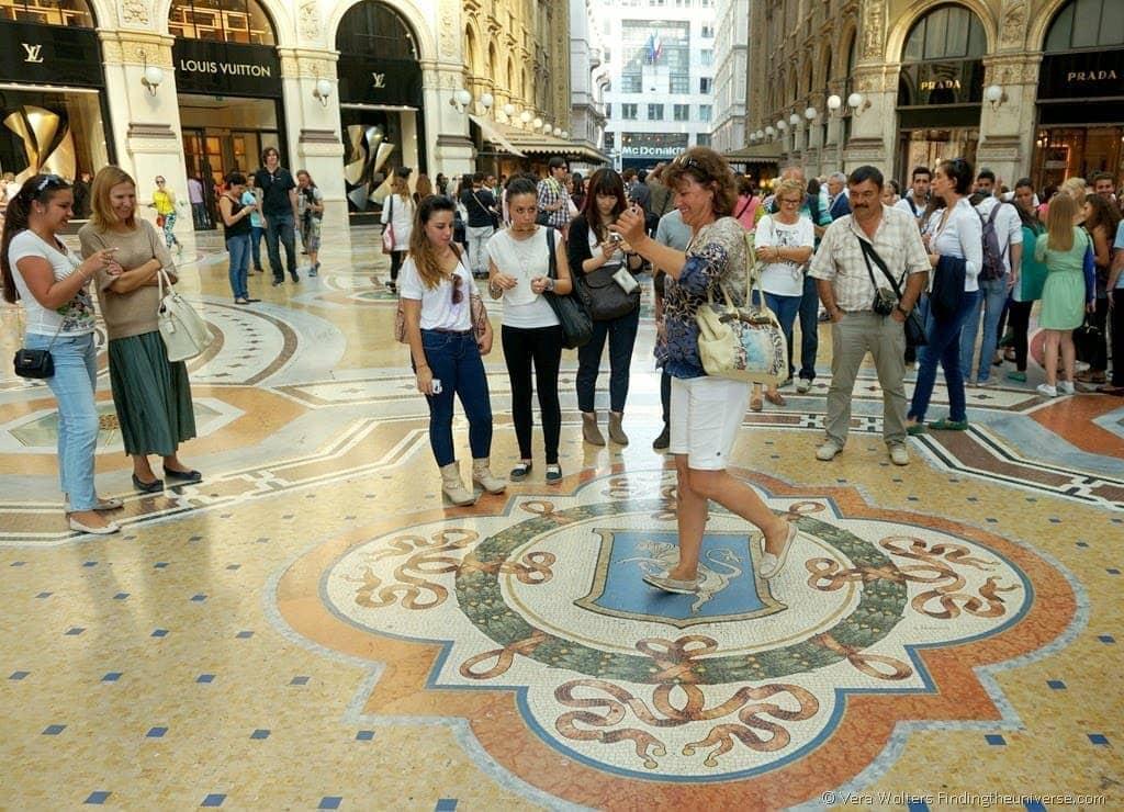Spinning the bull's balls in Milan