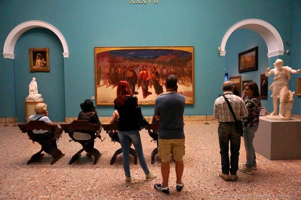 """The Fourth Estate"" by Volpedo, in the Pinacoteca di Brera, Milan"