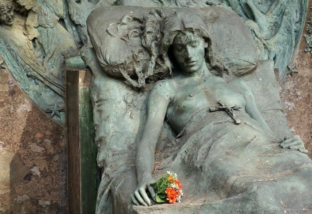 Monumentale cemetery, Milan, Italy