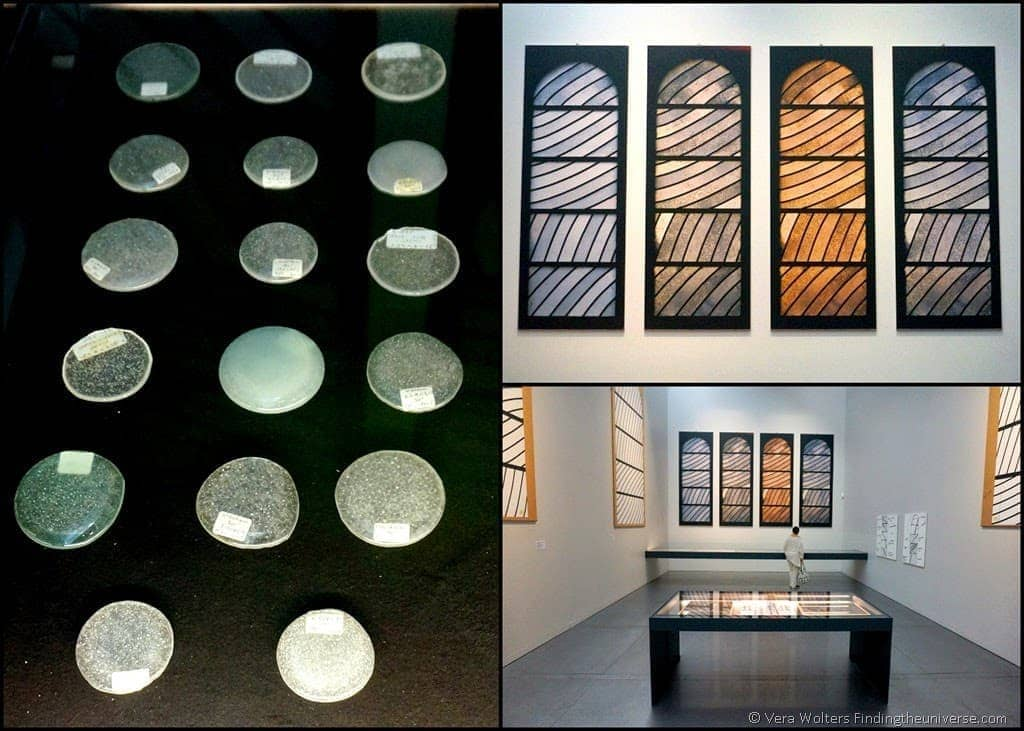 Exhibition on the Glass Windows of the Conques Abbey at the Pierre Soulanges Museum, Rodez, France