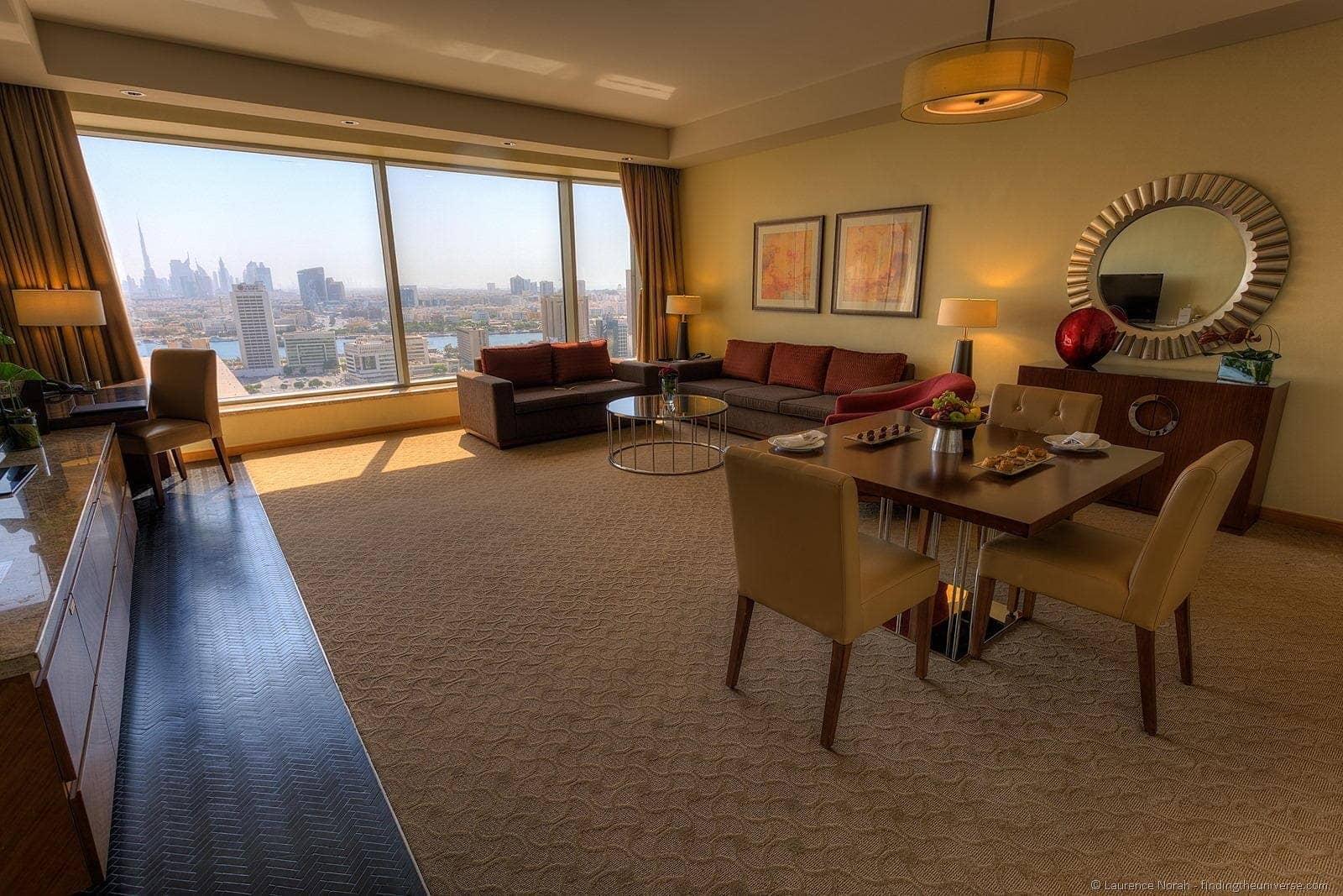 Hotel Room Suite Dubai angle 2