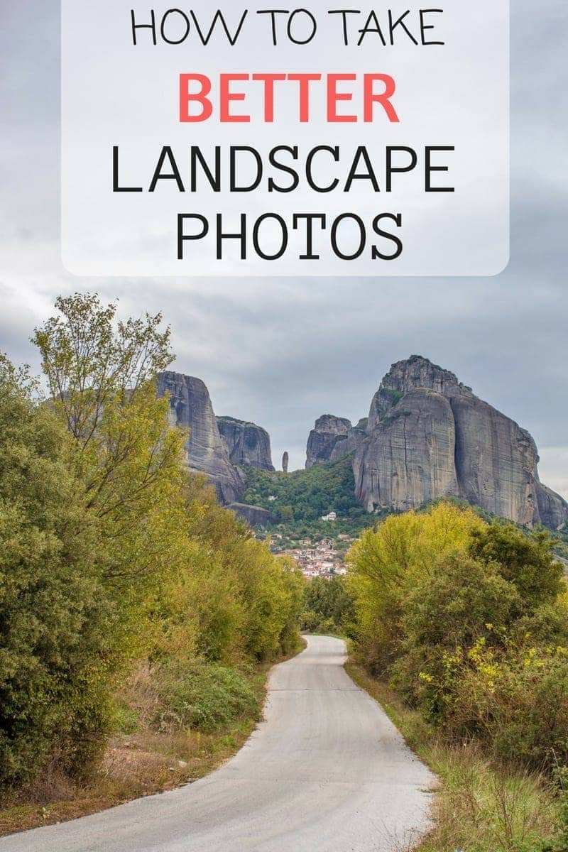 Easy to follow tips to help you take better landscape photos from a landscape photography professional