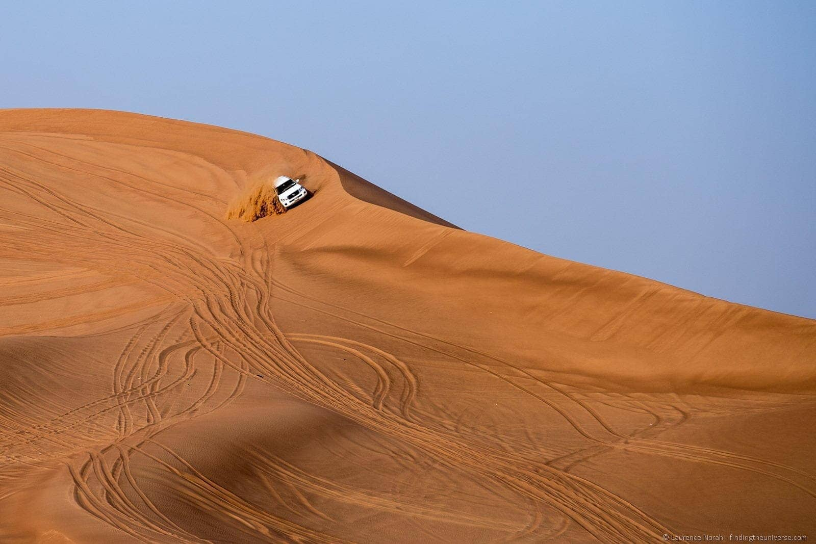 Dune bashing Dubai landcruiser safari