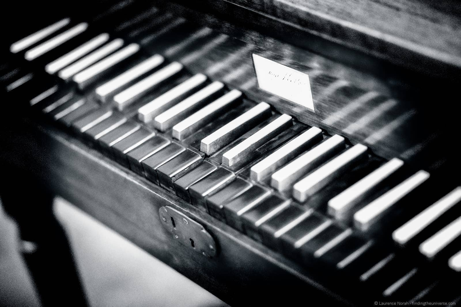 Rossini piano Pesaro Italy_