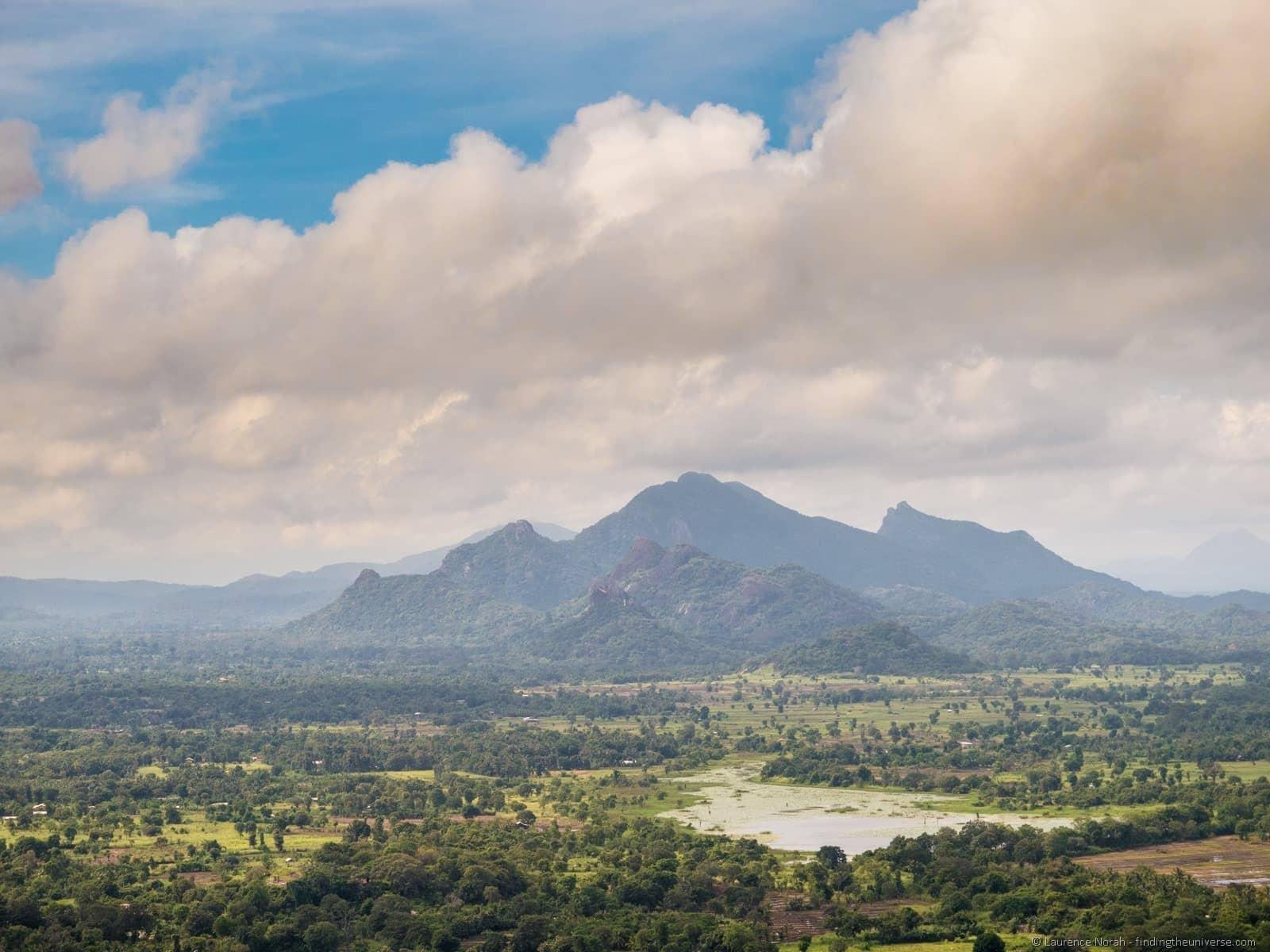 Sri Lanka Sigiriya view