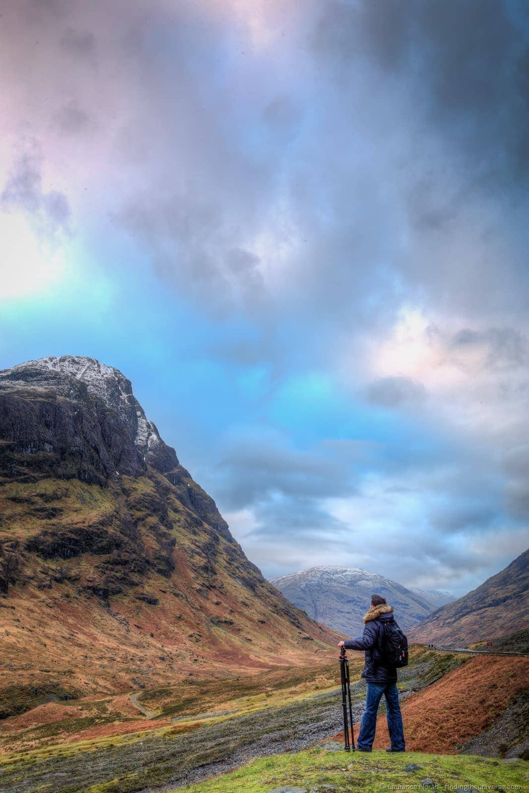 dante vanguard tripod highlands scotland glencoe