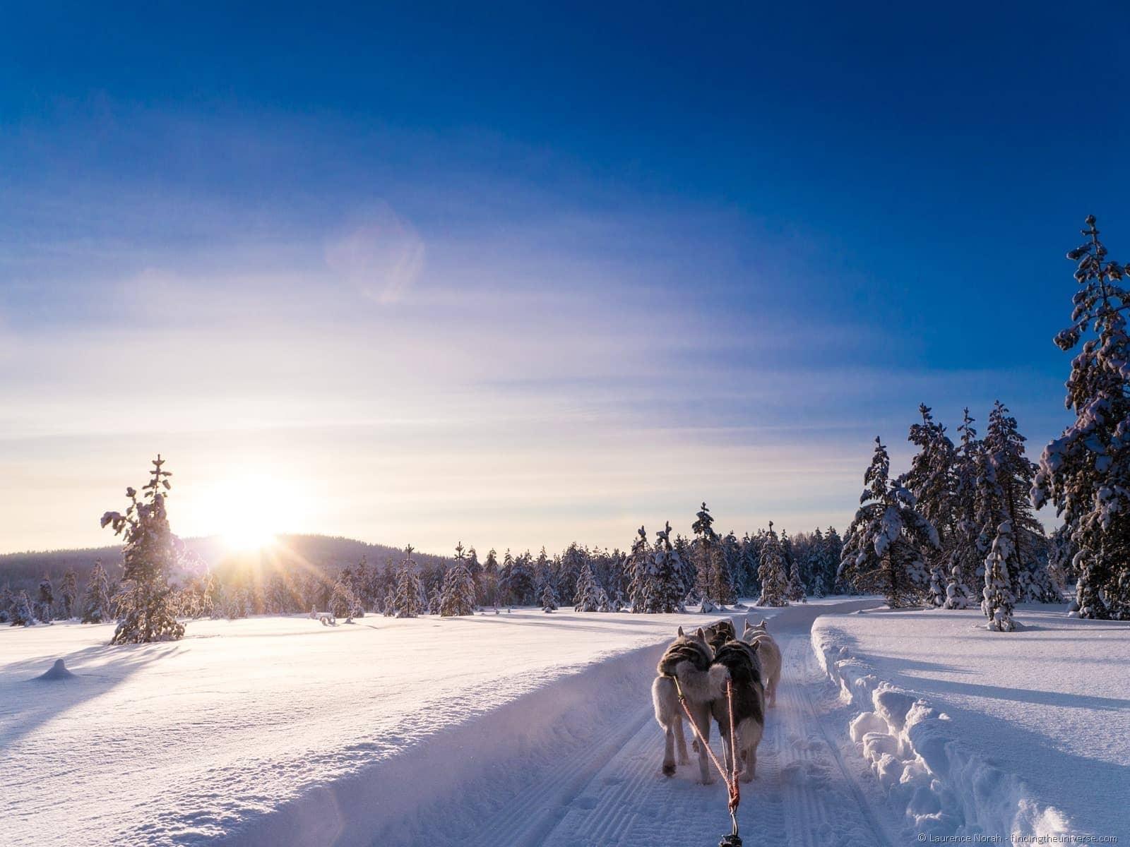 husky sledding iso syote finland laplapd