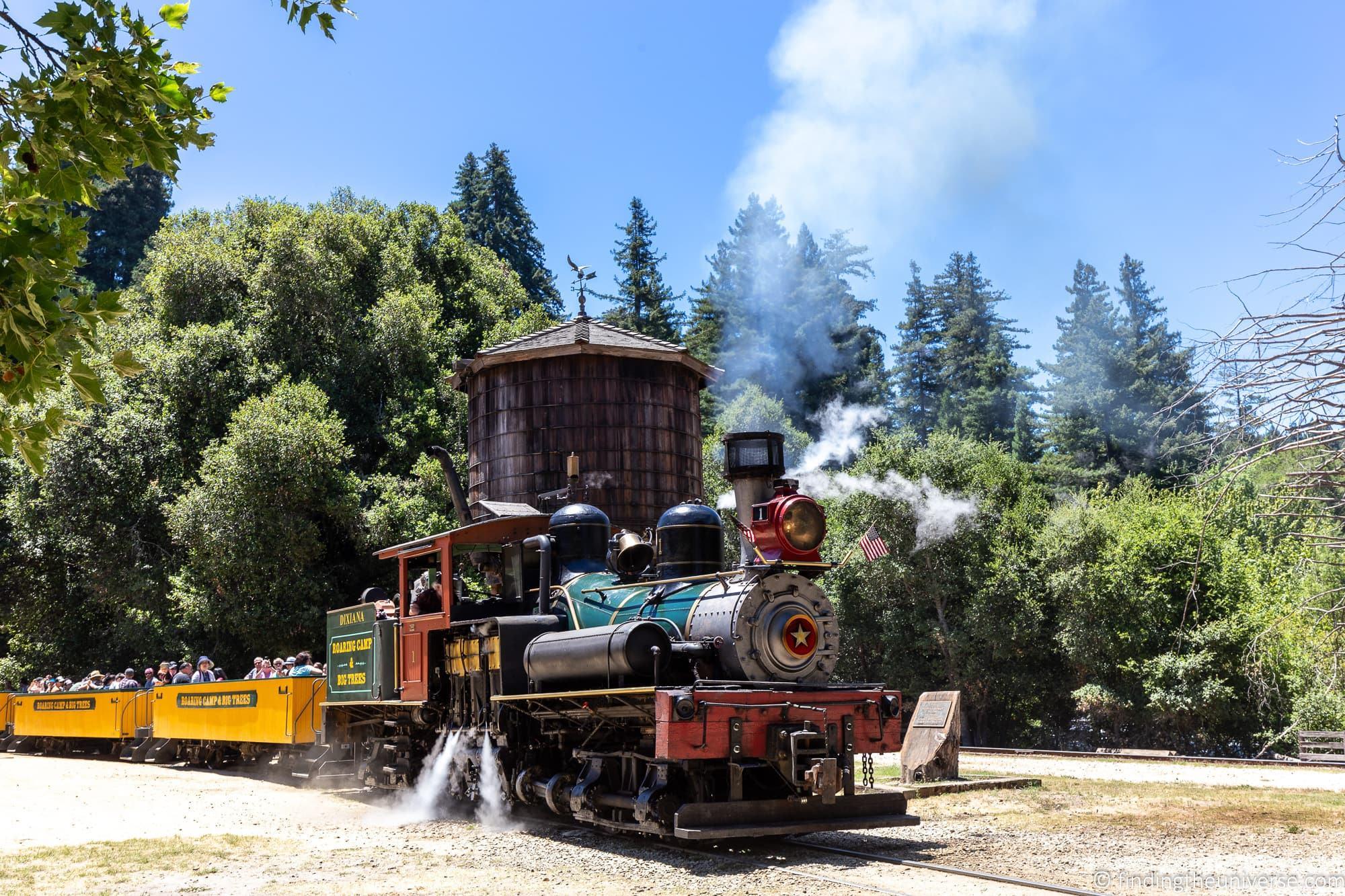Roaring Camp Santa Cruz