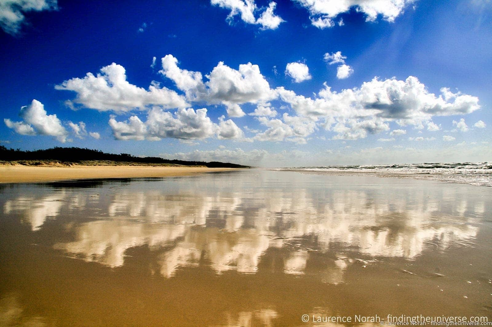 Clouds beach Fraser Island - scaled