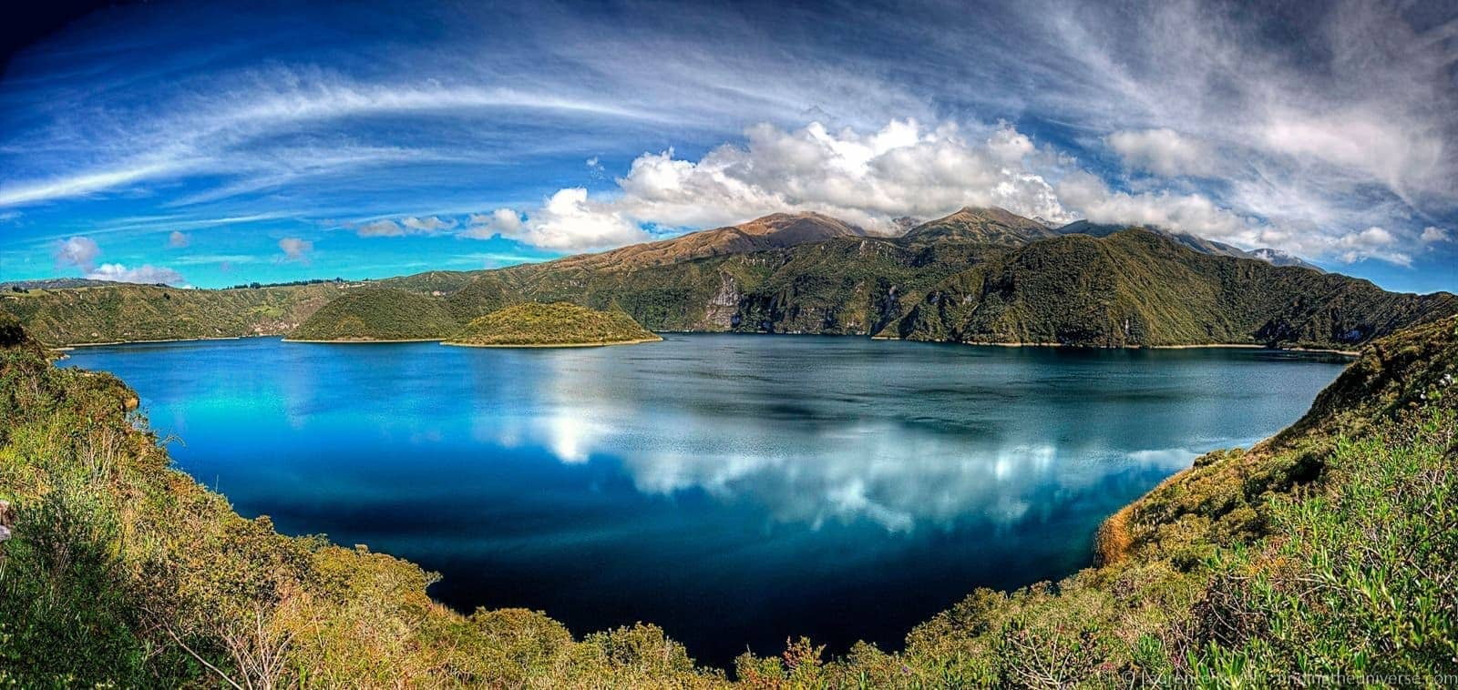 cuicocha lake otavalo panoramic scaled - scaled