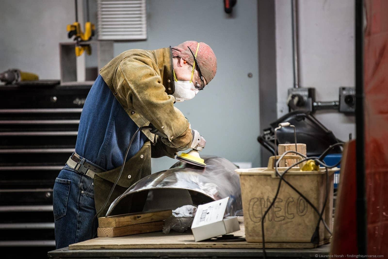 man at work Walla Walla foundry