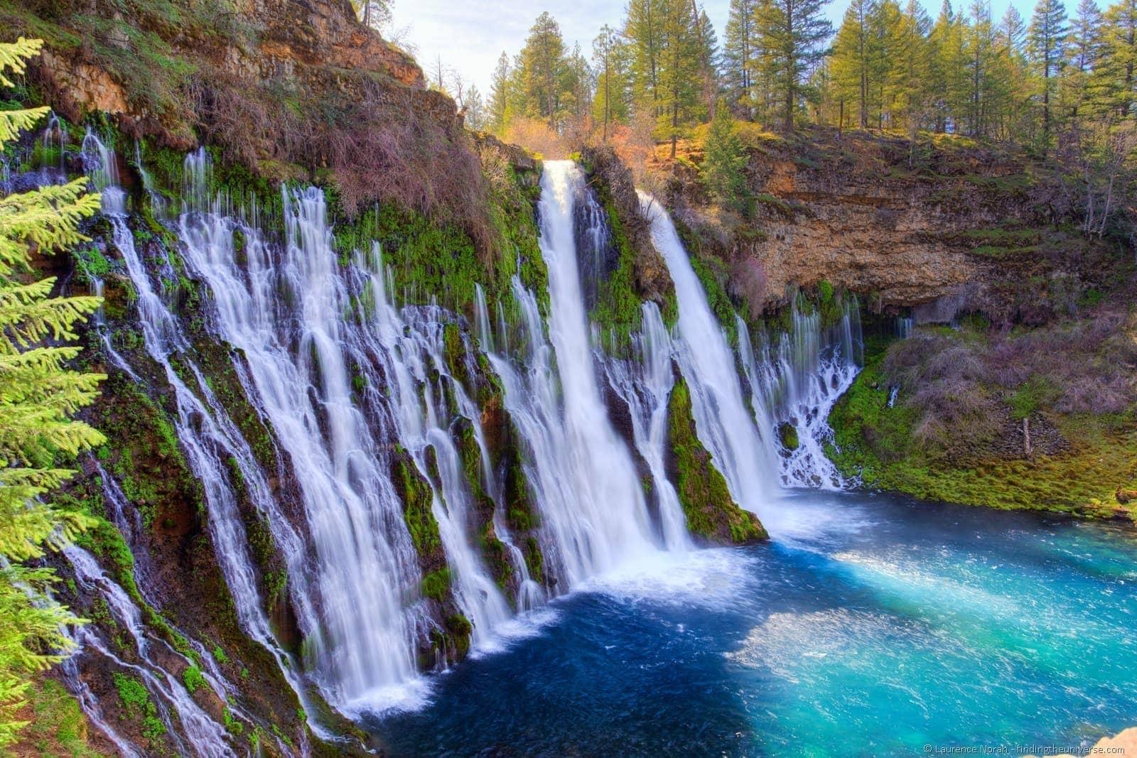 Burney Falls Shasta Cascade
