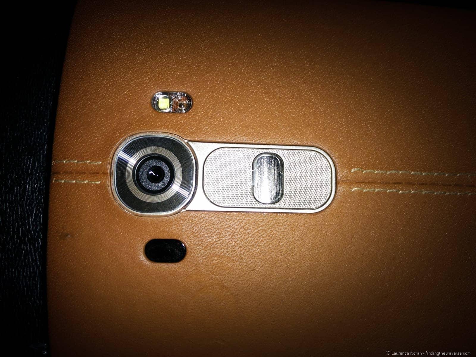 LG G4 camera close up