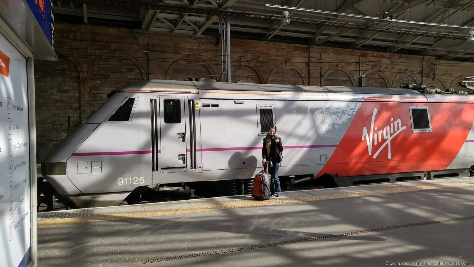 LG G4 virgin train HDR on