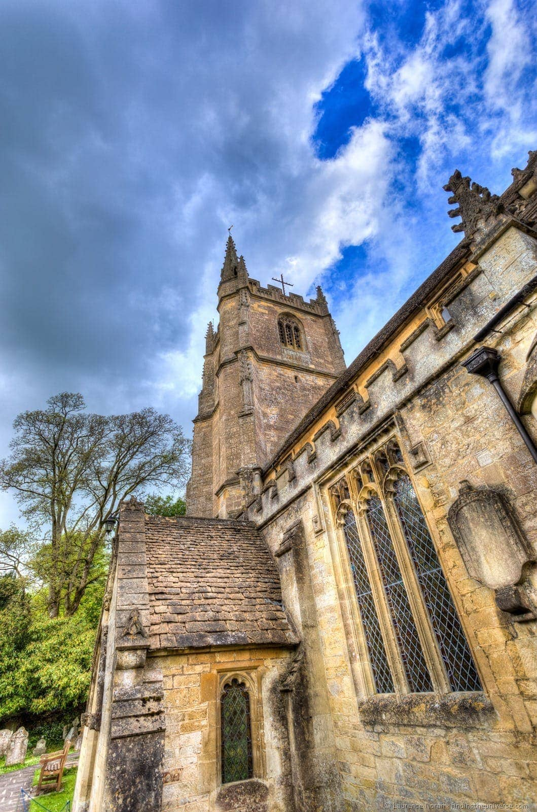 Church Castle Combe Cotswolds UK
