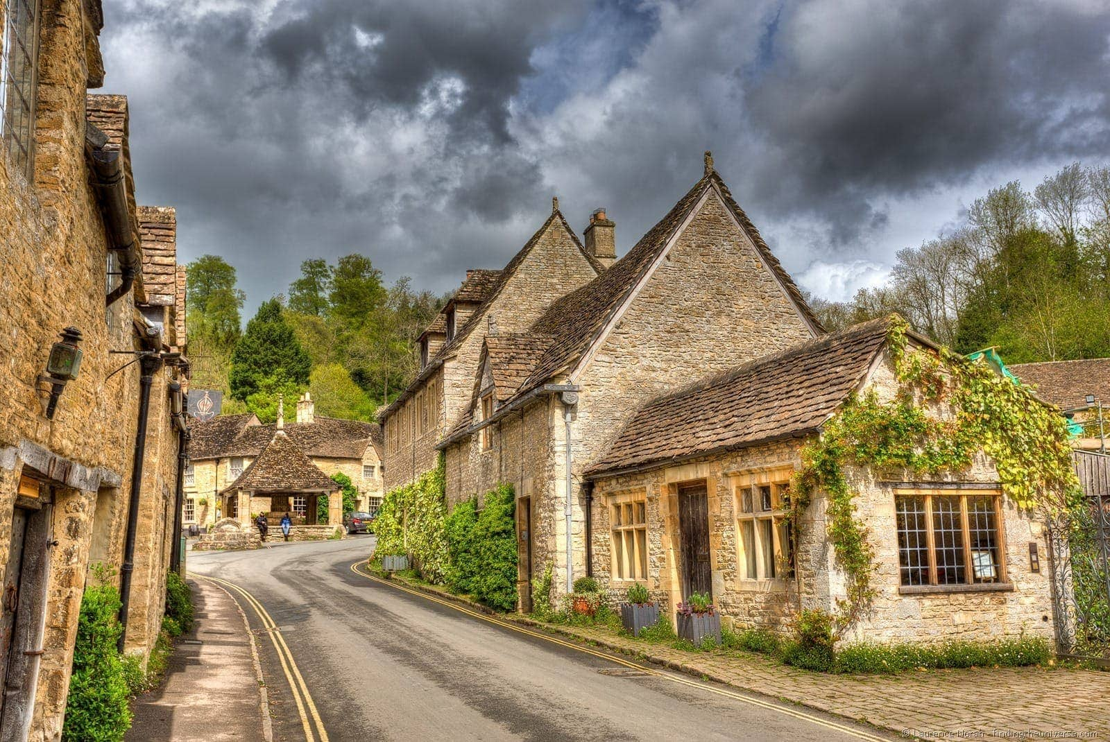 Cotswold village Castle Combe