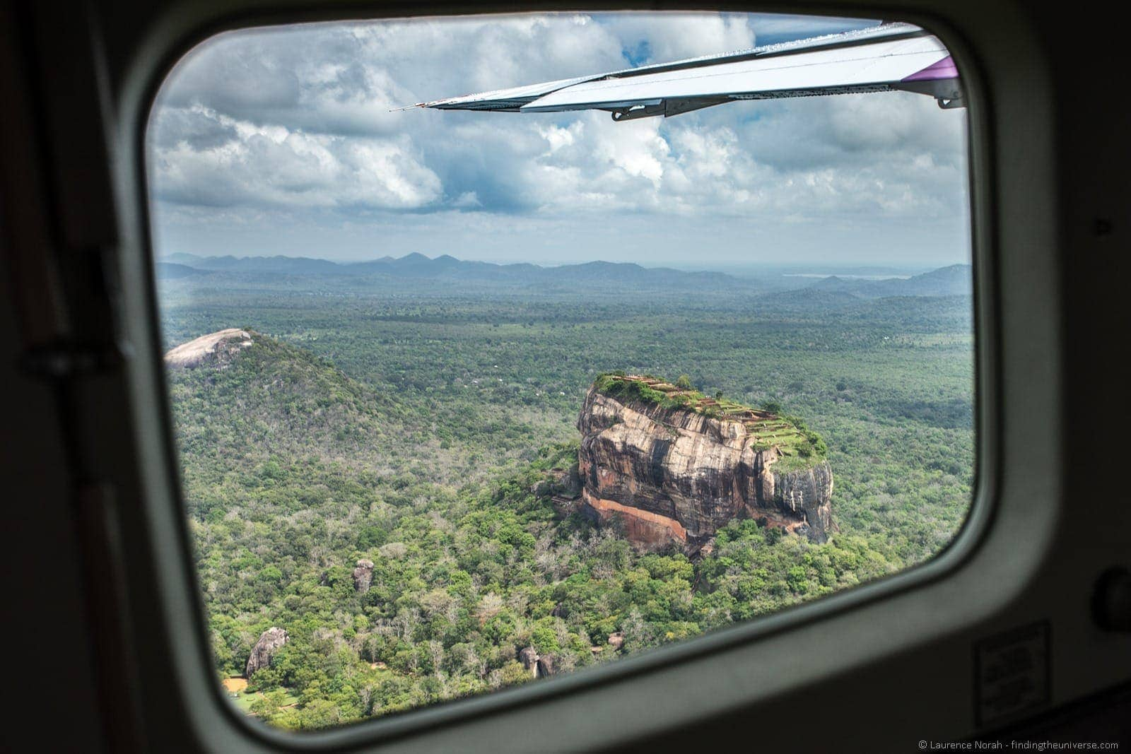 Sigiriya from the air