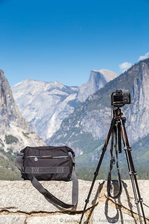 Veo Tripod and Bag in Yosemite