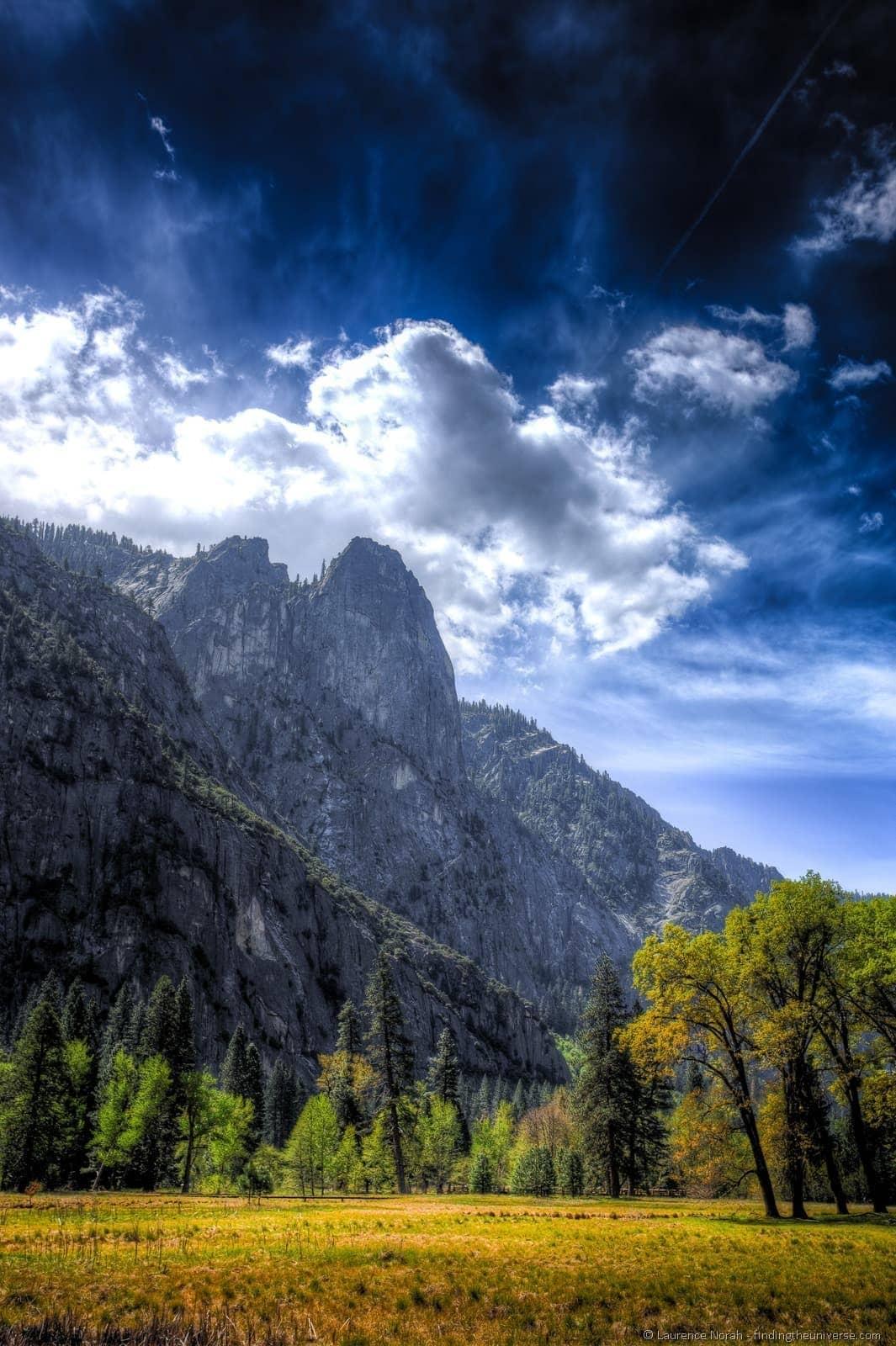 Yosemite Valley plains