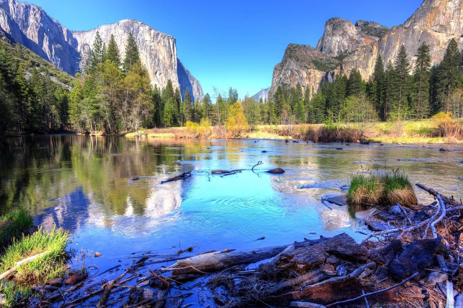 Yosemite view of El Capitan