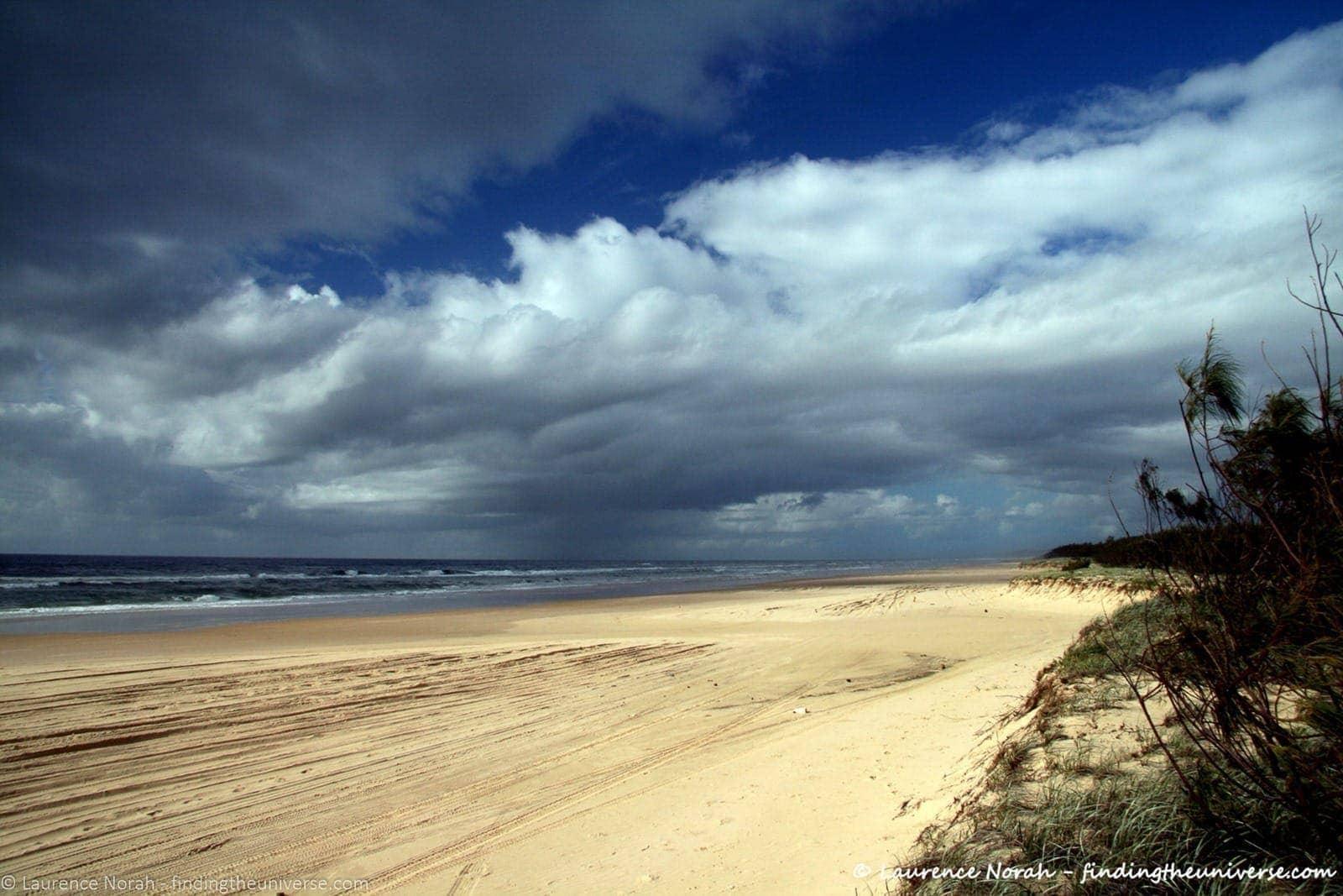Fraser Island beach - scaled