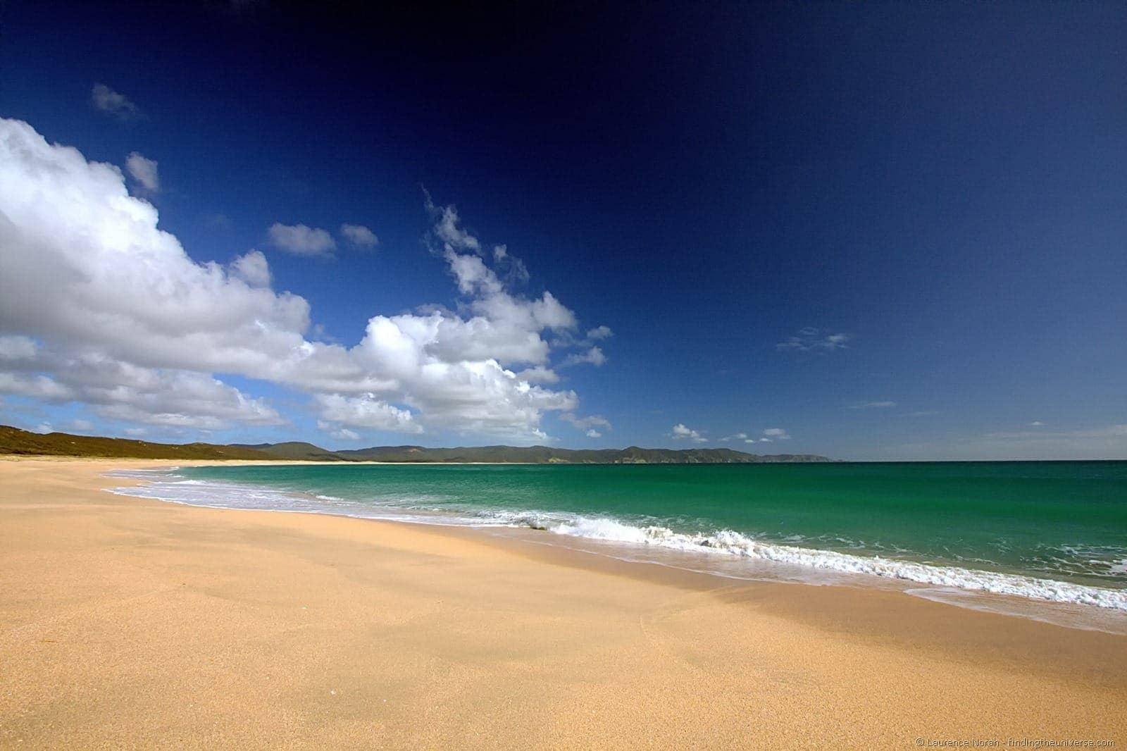 Spirits Bay Beach scaled