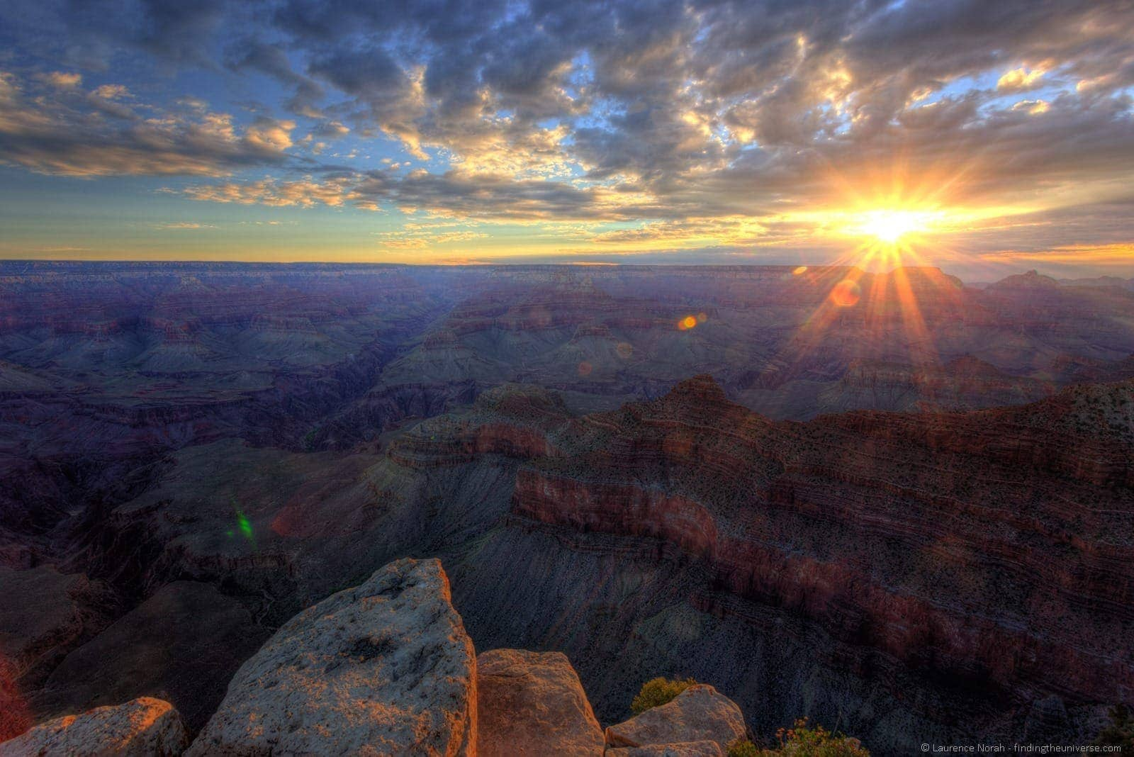 Grand canyon sunrise Mather Point 3
