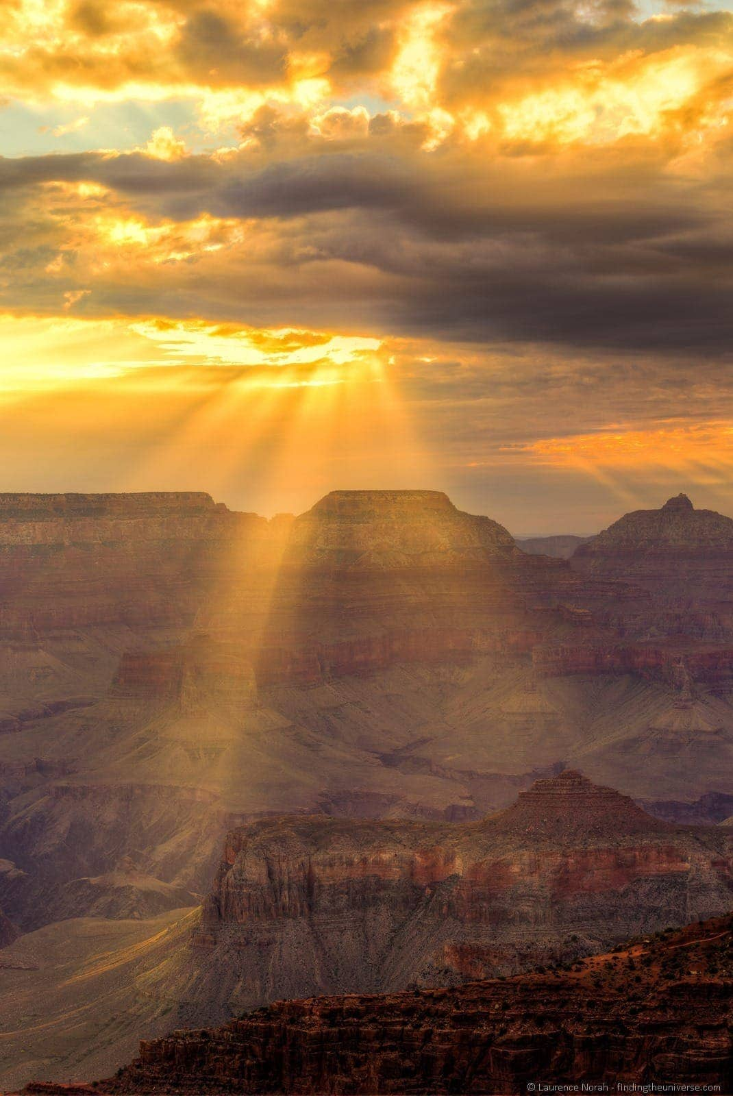 Grand canyon sunrise Mather Point 7