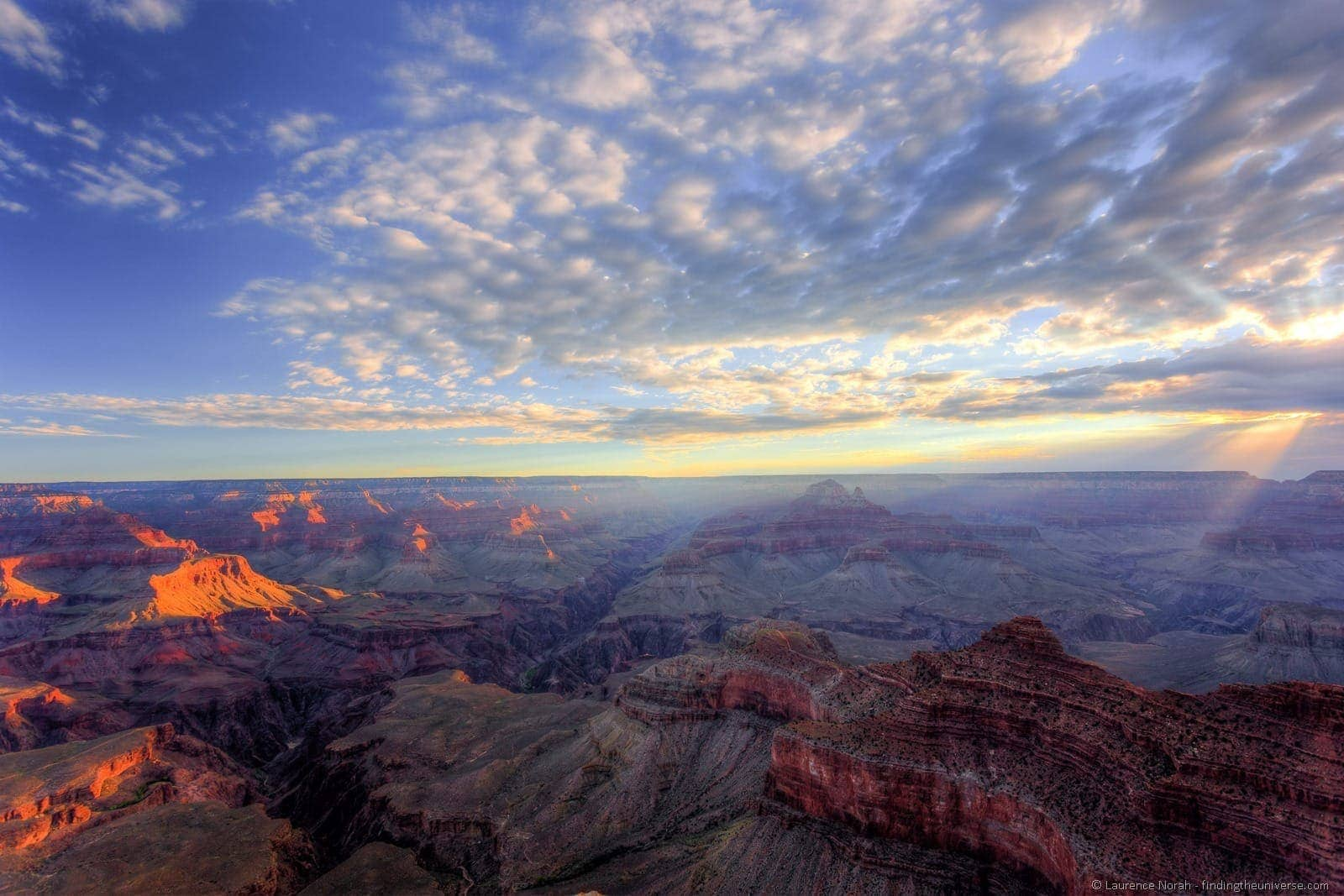 Grand canyon sunrise Mather Point 8