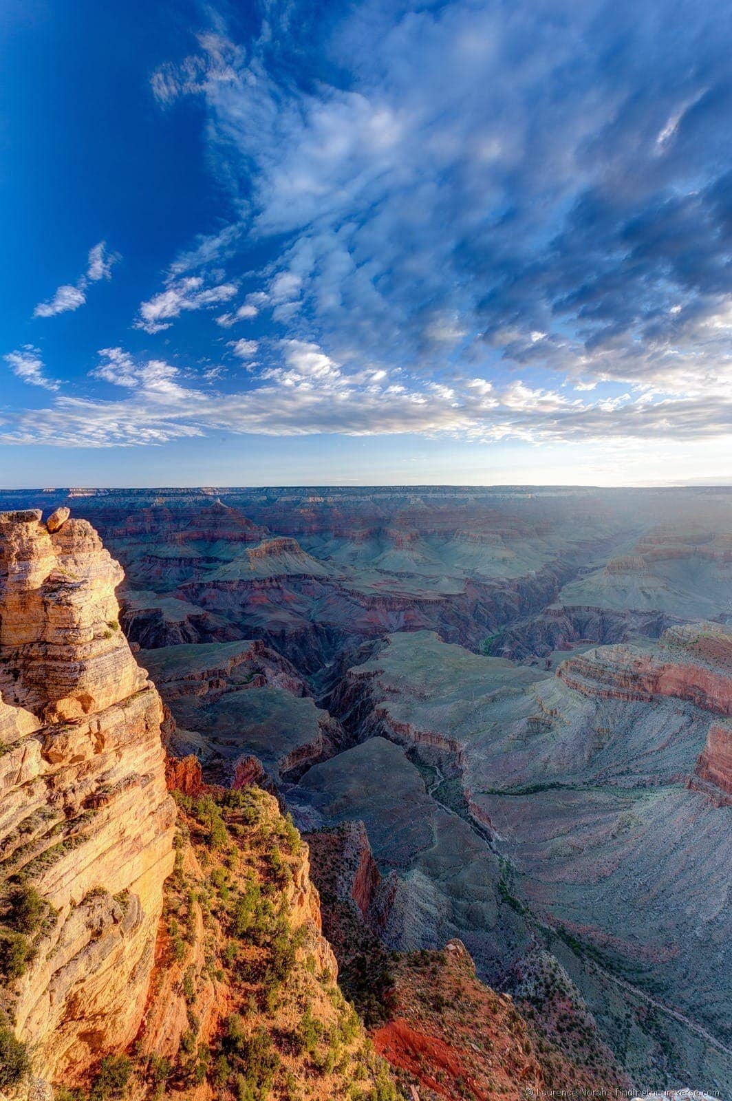 Grand canyon sunrise mahers point