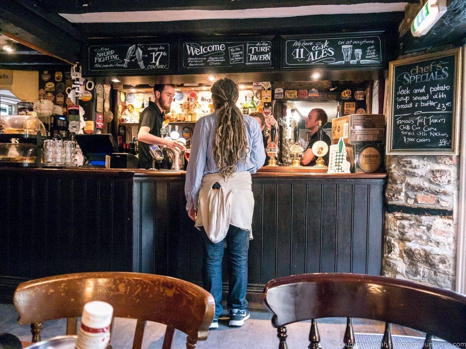 Turf Tavern Bar Oxford