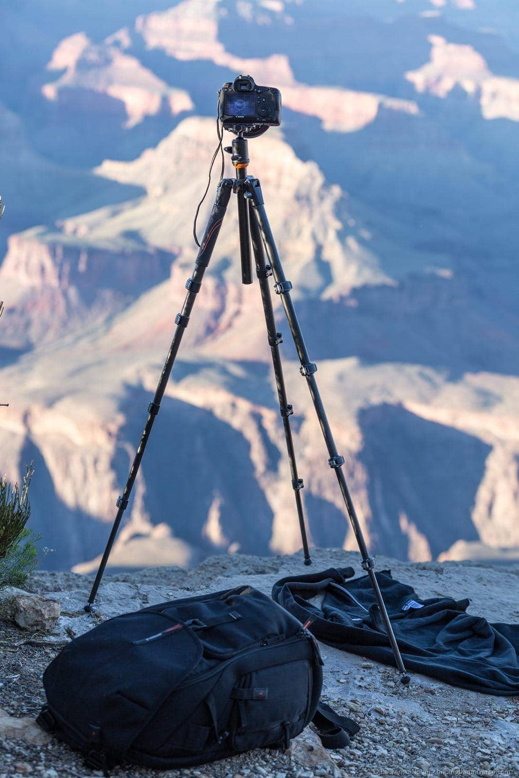 VEO tripod at Grand Canyon