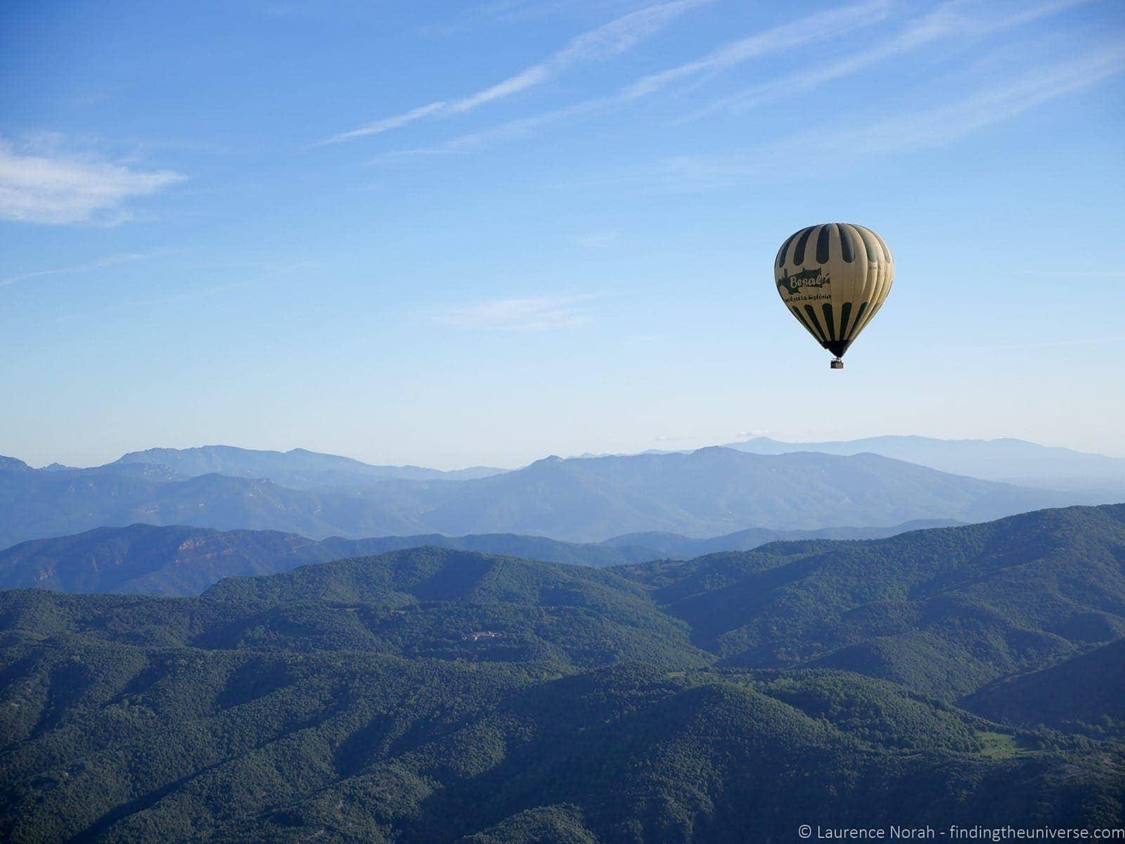 Balloon Vol de Coloms Costa Brava 28