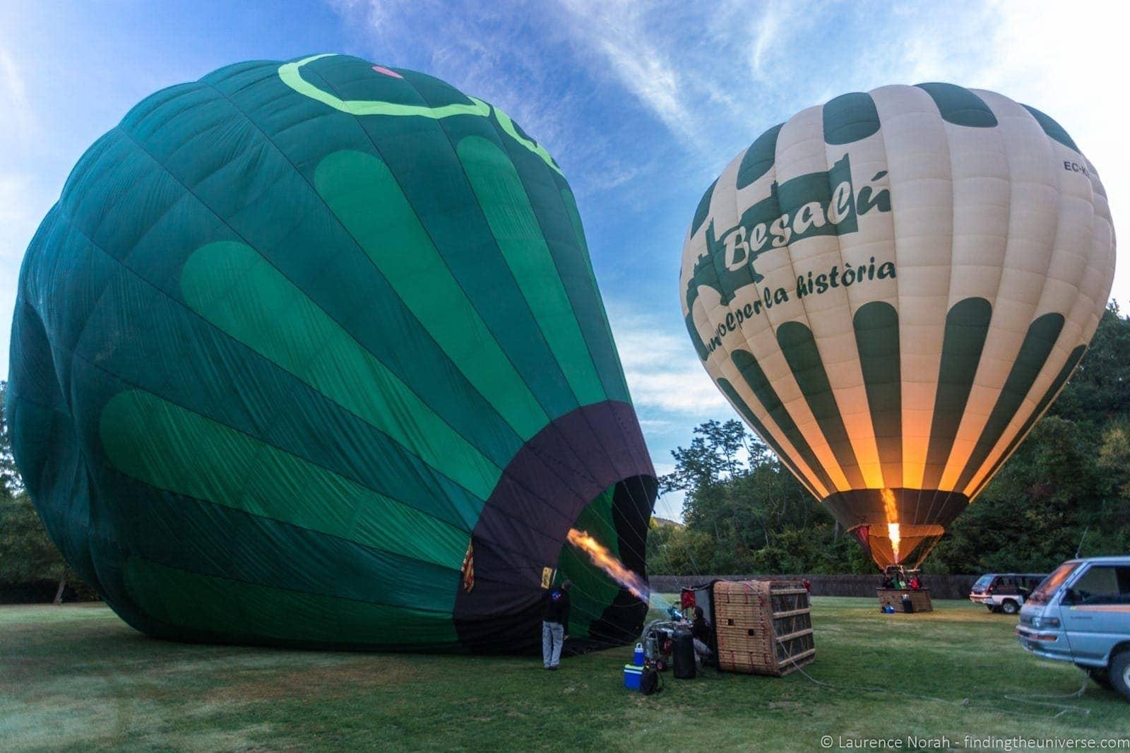 Balloon Vol de Coloms Costa Brava 2