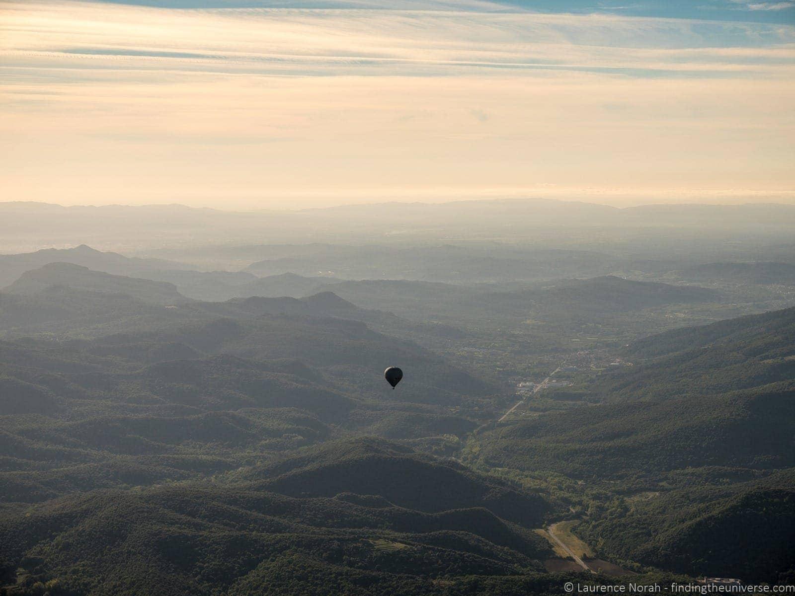Balloon Vol de Coloms Costa Brava 30