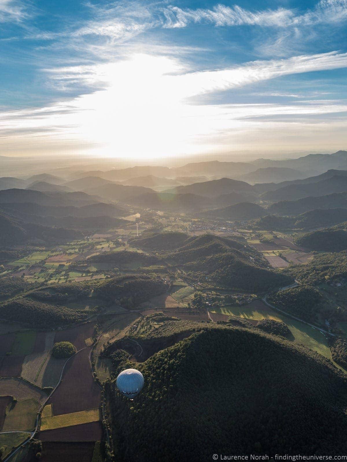 Balloon Vol de Coloms Costa Brava 5